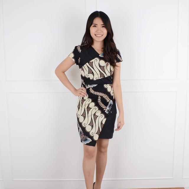 De Voile Dress Batik Wanita Smash Umira ds (Black)  Rp 110.000  품절 73395cd153
