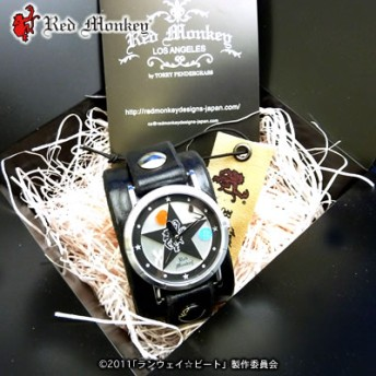 ランウェイ☆ビート×red monkey designs Collaboration Wristwatch/ビート(溝呂木美糸)モデル