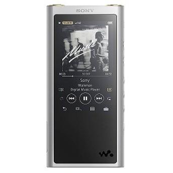 ソニー SONY 「ハイレゾ音源対応」ウォークマン WALKMAN ZXシリーズ 2017年モデル(64GB) NW-ZX300 SM(シルバー)[イヤホンは付属していません]