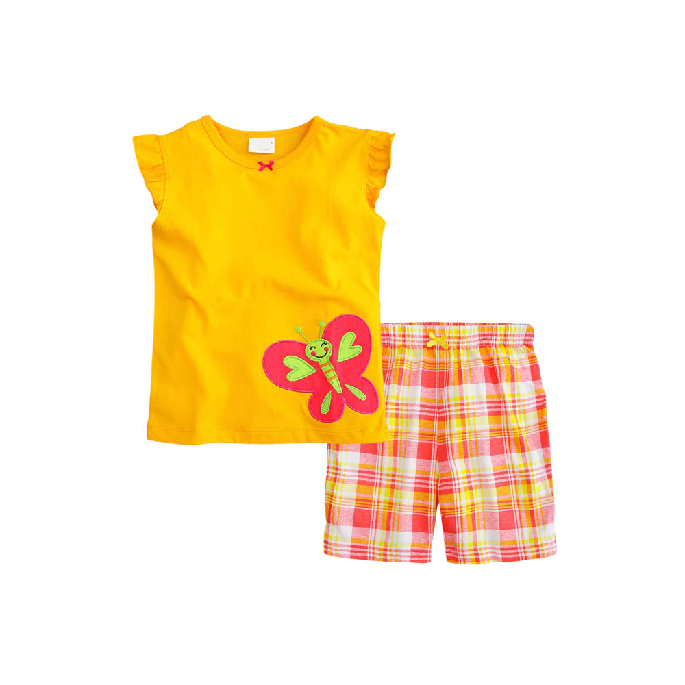 Jesika Fashion Kids Shop Line Celana Pendek Anak Perempuan Baju Setelan Santai Nexx47 D Batterfly