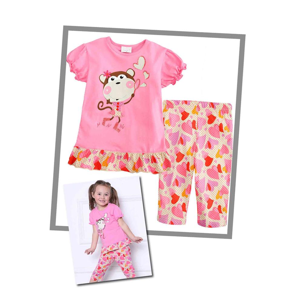 Jesika Fashion Kids Shop Line Setelan Lengan Panjang Anak Perempuan Lil D Ampamp Celana Jeans Bordir Baju Santai Nexx47 E Pendek