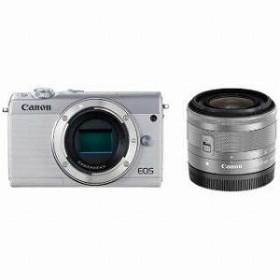 キヤノン CANON ミラーレス一眼 EOS M100【EF-M15-45 IS STM レンズキット】 EOS M100(ホワイト/ミラーレス一眼カメラ)