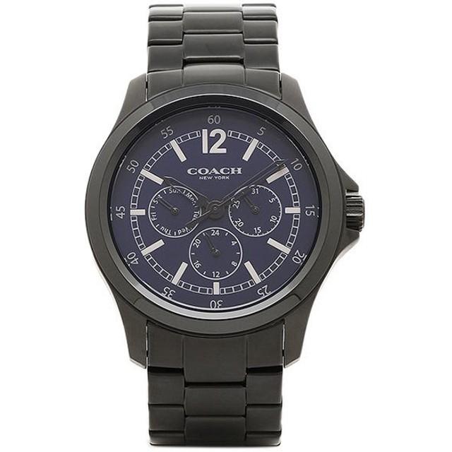 a6c245e3623a 【送料無料】コーチ 時計 アウトレット COACH W5021 NAV メンズ腕時計 ウォッチ ネイビー/シルバー