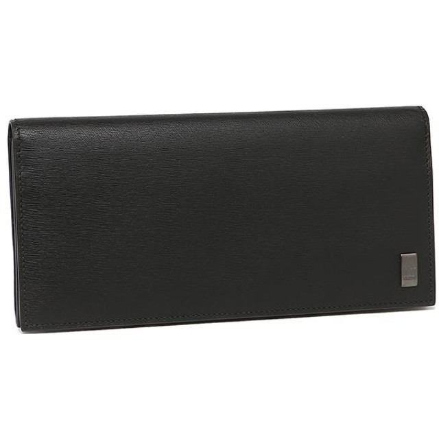 7fac34797b8e 【送料無料】ダンヒル 財布 メンズ DUNHILL 二つ折り長財布 L2RF10A ブラック 父の
