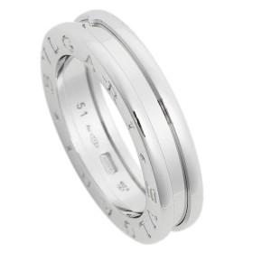 【送料無料】ブルガリ 指輪 リング アクセサリー メンズ レディース BVLGARI RWG1BAND AN852423 ビーゼロワン ワンバンド ホワイトゴールド【サイズ交換不可】