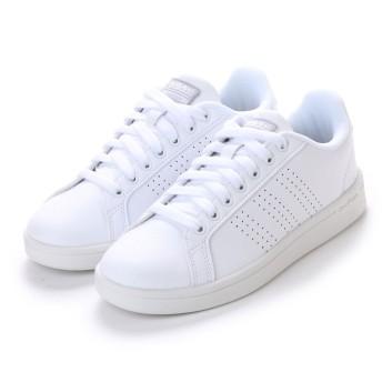 ASBee adidas(アディダス) CLOUDFOAM VALCLEAN W(クラウドフォームバルクリーンW) BB9609 ランニングホワイト/ランニングホワイト/シルバーメット