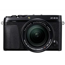 富士フィルム X-E3 レンズキット ブラック [デジタルミラーレス一眼カメラ(2430万画素)] デジタル一眼カメラ
