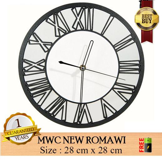 Jam Dinding MWC NEW ROMAWI - Jam Modern Unik e25b166979