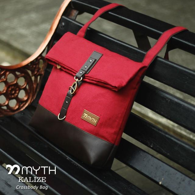 Myth Bags Kalize Red   Dark Brown - Sling Bags - Tas Selempang  Rp 210.000  Rp 195.300 8dacc87051