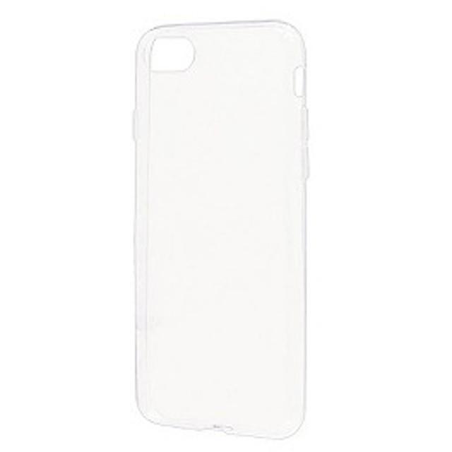 ラスタバナナ iPhone 8用 TPUケース 0.6mm BKS02IP7SC クリア「ビックカメラグループオリジナル」