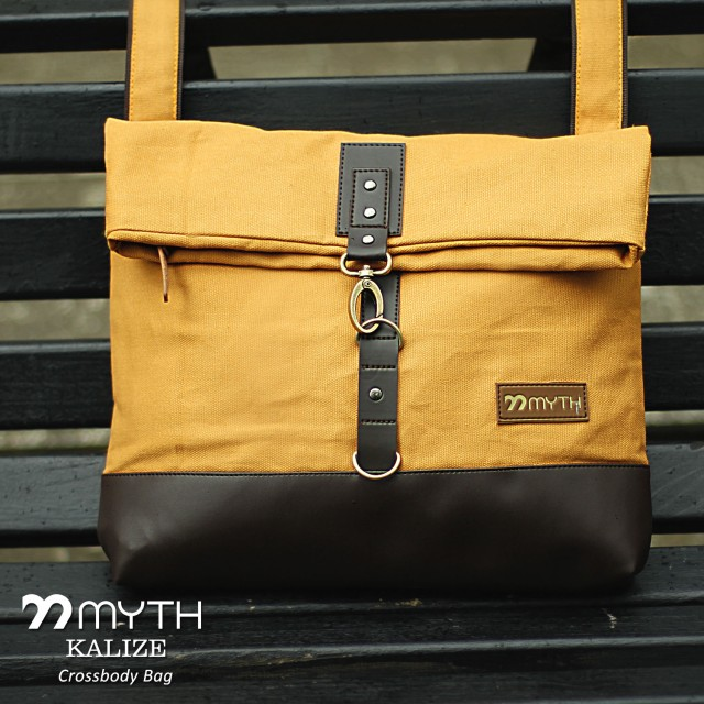 Myth Bags Kalize Yellow   Dark Brown - Sling Bags - Tas Selempang  Rp  210.000 Rp 195.300 6ad3f206ed