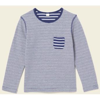 AIGLE キッズ・ベビー キッズ・ベビー マリンロフ 長袖Tシャツ ZTJH037 INDIGO BLUE (001) キッズウェア