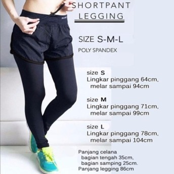 Latihan Legging Celana Pendek Olahraga Peregangan Kebugaran 57 Page 5 Kebugaran luar ruangan .