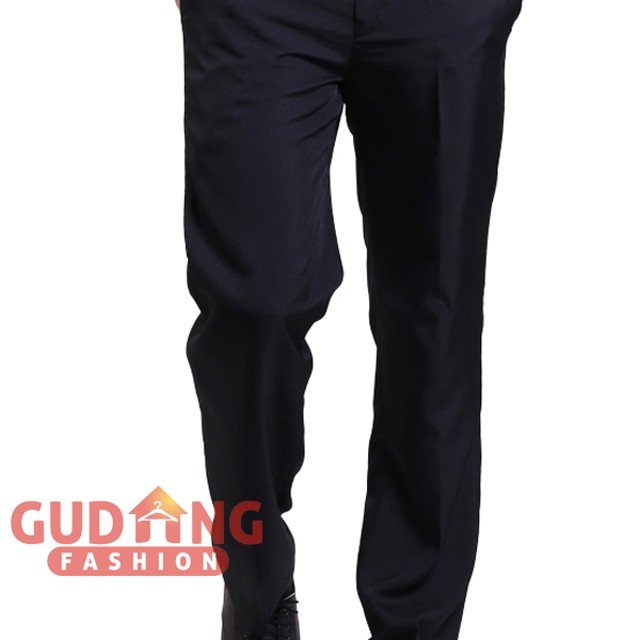 Celana Formal Pria Smart Elegant Katun Hitam – CLN 1064: Rp 150.000