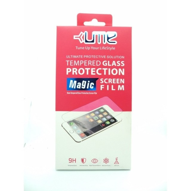 Ume Tempered Glass Screen Protector for Sony Xperia Z1 Compact - Transparan