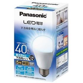 パナソニック Panasonic 調光器非対応LED電球 (一般電球形・全光束485lm/昼光色相当・口金E26) LDA4D-H/E/W/2
