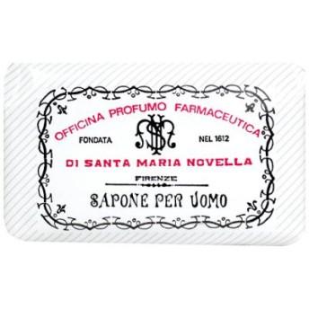 サンタマリアノヴェッラ メンズ ソープ アンバー 130g メンズ ボディケア