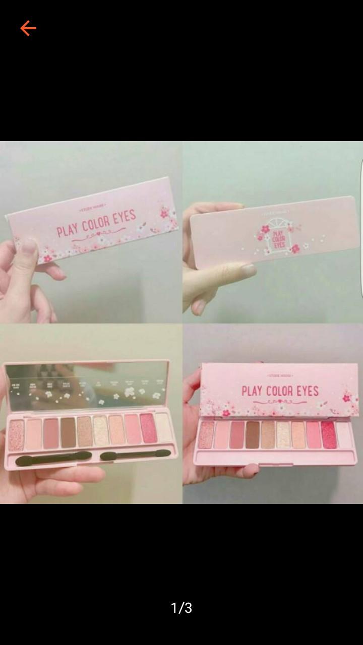 Dirabeauty Shop Line Etude House Play Color Eyes Cherry Blossom
