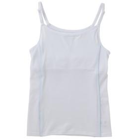 トップバリュ おんなのこのミカタ ズレにくいキャミソール 脇メッシュ シロ 女の子 半袖 1