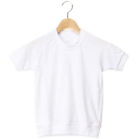 トップバリュ クルー半袖トレシャツ シロ 女の子 自由半そでトレシャツ 体操服・トレーニングウェア・赤白帽子 TV118AHC015