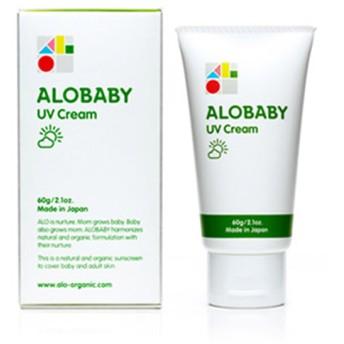 ALOBABY アロベビー ALOBABY UVクリーム 60g 4571461541020 ベビーケア用品 暑さ対策