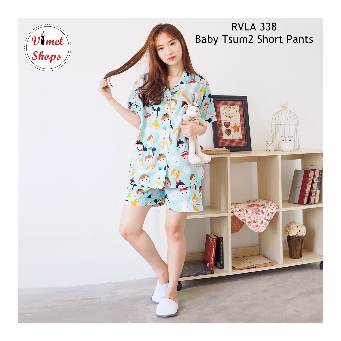 Baby Tsum2 Pajamas PENDEK - Baju Tidur - Piyama