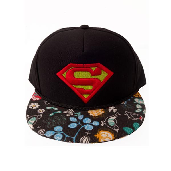 ... Elfs Topi Superman Logo Timbul Snapback Canvas Superheroes