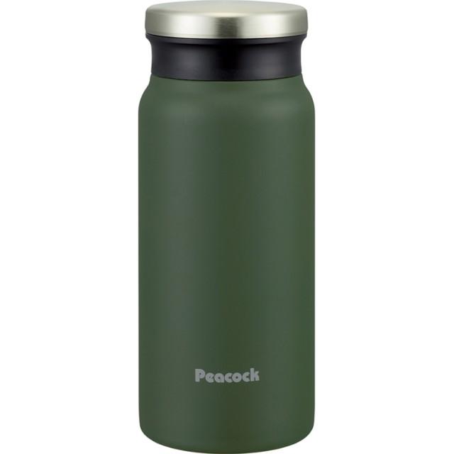 ピーコック(Peacock) スクリューマグボトル 0.4L カーキ AMZ-40