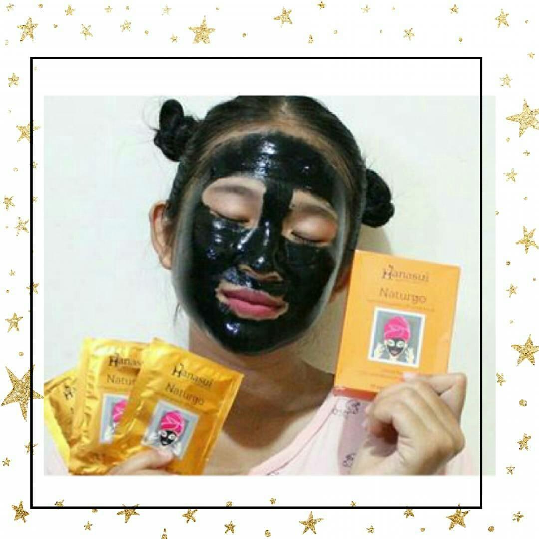 Cosmetic Hq Shop Line Naturgo Masker Hanasui Mask Lumpur Bpom