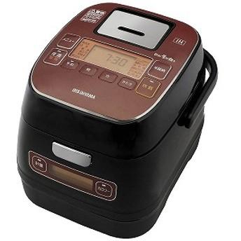 アイリスオーヤマ IRIS 炊飯器 「銘柄量り炊き」[3合/IH] KRC-ID30-R
