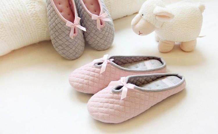 【Caldo卡朵生活】菱格紋冬季輕柔保暖室內居家拖鞋 (36-37、38-39)