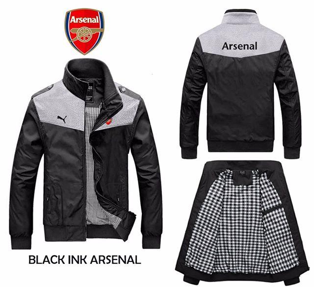 Jaket bola black ink arsenal 5613c3c424