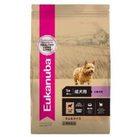 ユーカヌバ ナチュラルラム&ライス 成犬用 小型犬用 0.8kg