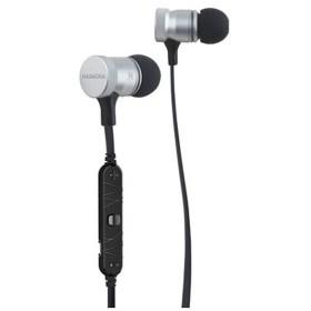 bluetooth イヤホン カナル型 シルバー BT805 [リモコン・マイク対応 /ワイヤレス(左右コード) /Bluetooth]