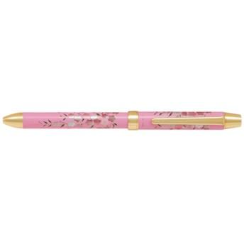 [多機能ペン] 2+1 雅絵巻 枝垂れ桜 (インキ色:黒・赤+シャープ0.5mm) BTHM-5SR-SDZP