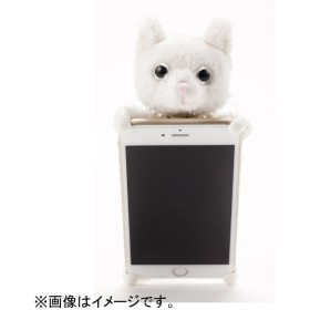 iPhone 6s/6用 ZOOPY home ネコ ホワイト ZPH-003