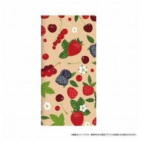 Xperia XZ Premium用 手帳型ケース 薄型デザインPUレザーケース Design+ berry LEPLUS LP-XPXZPLD016
