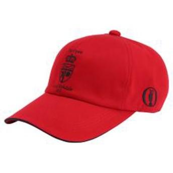 メンズ ゴルフキャップ(チャイニーズレッド/メンズフリー:56 60cm)52MW710162【2017ロイヤルバークデール大会刺繍入り】