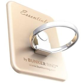 〔スマホリング〕 Bunker Ring Essentials マットゴールド UDBREMB006