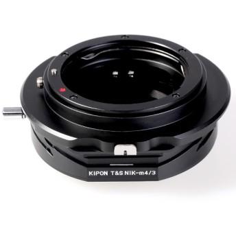 マウントアダプター T & S NIK-M4/3【ボディ側:マイクロフォーサーズ/レンズ側:ニコンF】