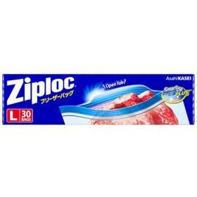 Ziploc(ジップロック)フリーザーバッグ Lサイズ 30枚入