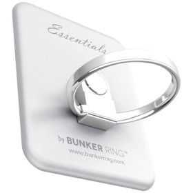 〔スマホリング〕 Bunker Ring Essentials マットシルバー UDBREMB003