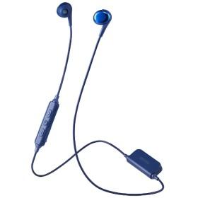 bluetooth イヤホン カナル型 ブルー MXH-BTC400 [リモコン・マイク対応 /ワイヤレス(左右コード) /Bluetooth]