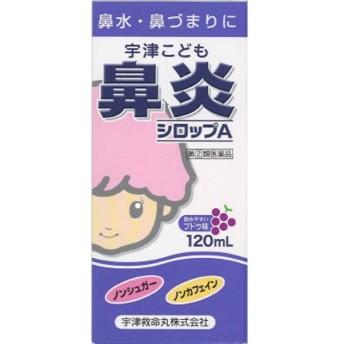 【第(2)類医薬品】 宇津こども鼻炎シロップA(120mL)〔鼻炎薬〕