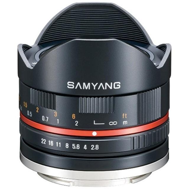 カメラレンズ 8mm F2.8 UCM FisheyeII【ソニーEマウント(APS-C用)】(ブラック)