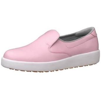 ミドリ安全 ハイグリップ作業靴H-700N 23cm ピンク <SKT4315>
