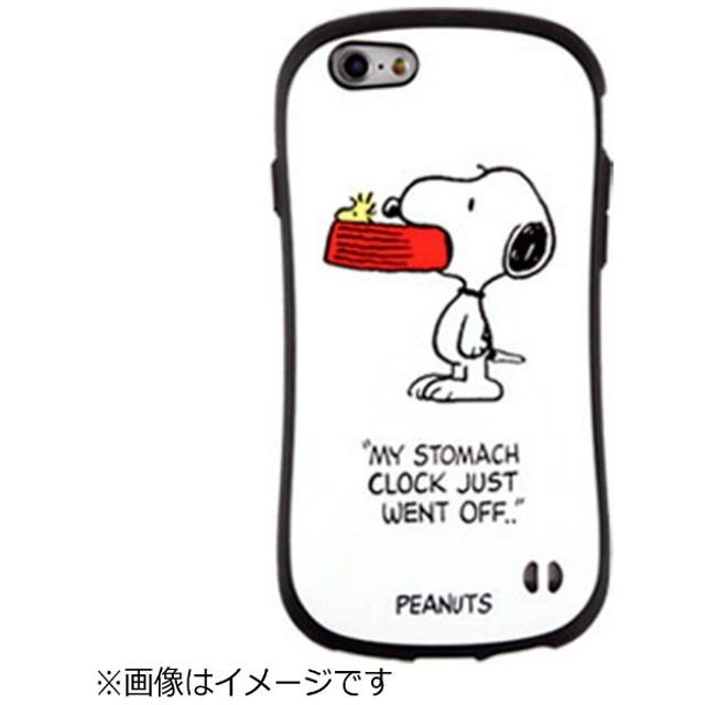 iPhone 6s/6用 ピーナッツ iface First Classケース スヌーピー&ウッドストック/ホワイト