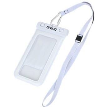 スマートフォン用[幅 102mm/5.8インチ] DIVAID フローティング防水ケース ホワイト