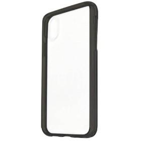 iPhone X用 ハイブリッドスリムケース ブラック HSC03