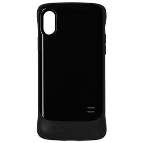 iPhone X用 VANILLA PACK 衝撃吸収ケース ブラック 3386IP8A